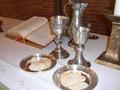 Abendmahlstisch in der Matthäuskirche, Backnang
